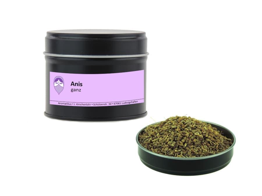 Anis ganz von Aromatikus in einer Aromaschutzdose