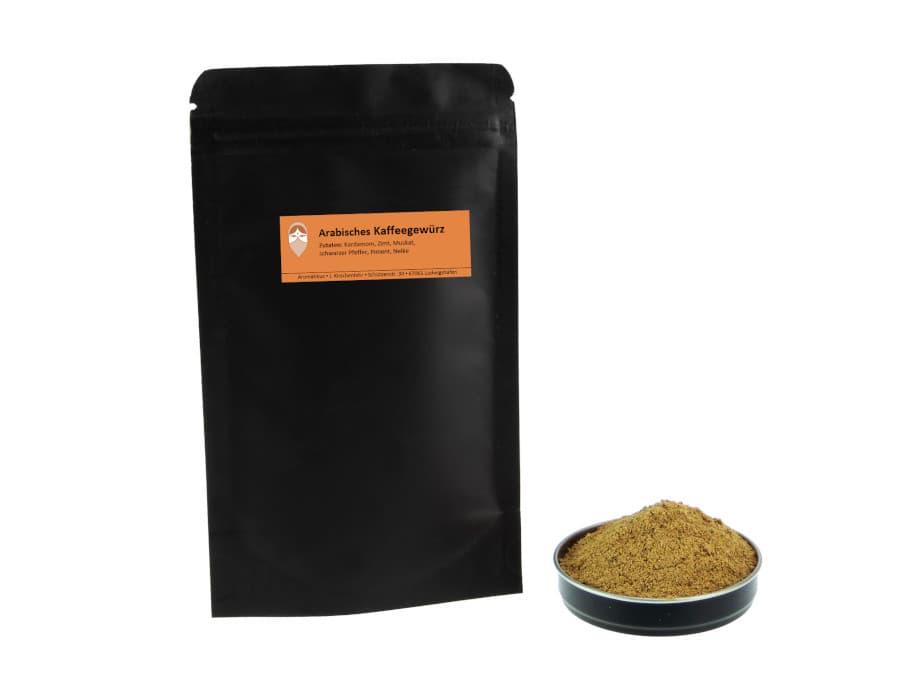 Arabisches Kaffeegewürz von Aromatikus im verschließbaren Nachfüllpäckchen