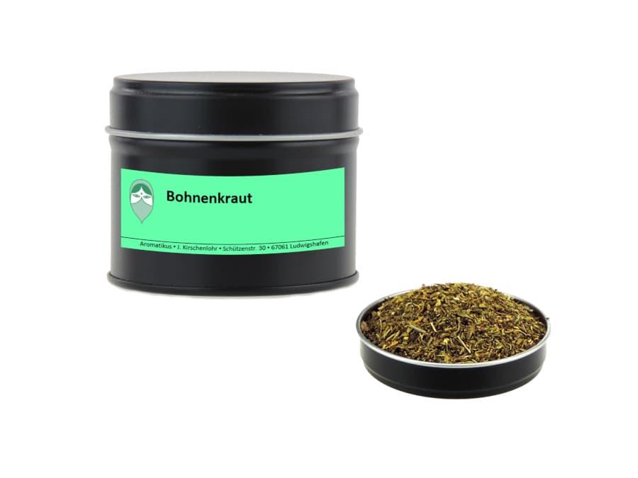 Bohnenkraut getrocknet von Aromatikus in einer Aromaschutzdose