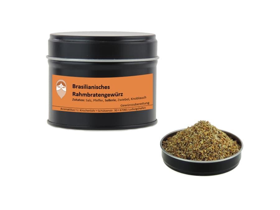 brasilianisches Rahmbratengewürz von Aromatikus in einer Aromaschutzdose