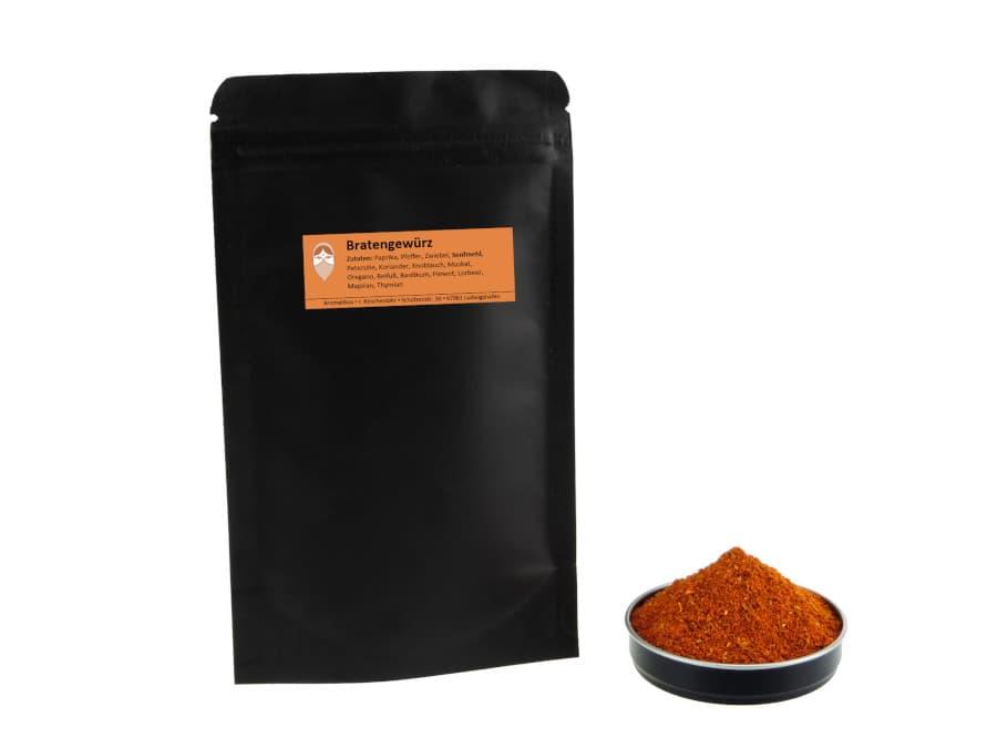 Bratengewürz Mischung von Aromatikus im verschließbaren Nachfüllpäckchen