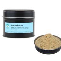 Butterbrotsalz Mischung von Aromatikus in einer Aromaschutzdose