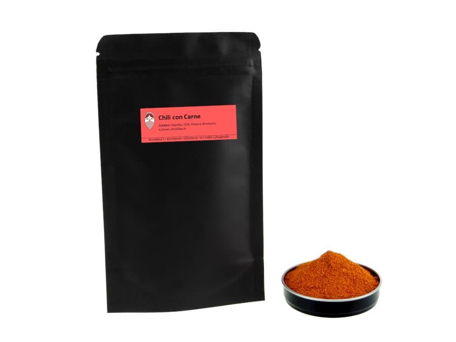 Chili con Carne Chilimischung von Aromatikus im verschließbaren Nachfüllpäckchen