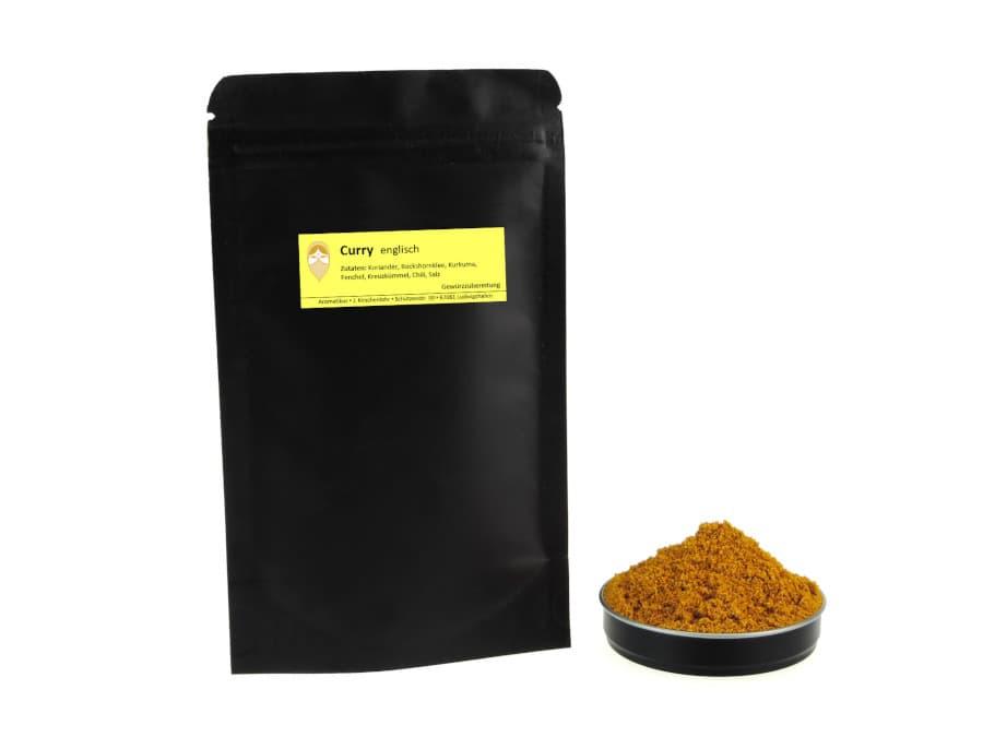 englischer Curry Diana von Aromatikus im verschließbaren Nachfüllpäckchen