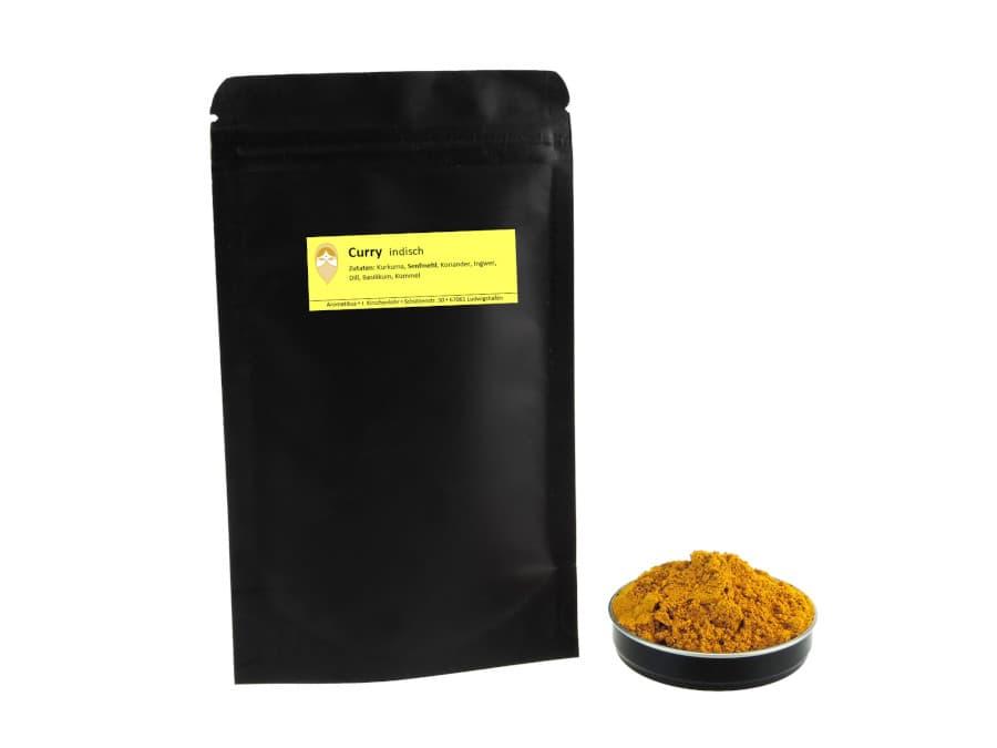 indischer Curry von Aromatikus im verschließbaren Nachfüllpäckchen