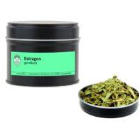 Estragon getrocknet gerebelt von Aromatikus in einer Aromaschutzdose