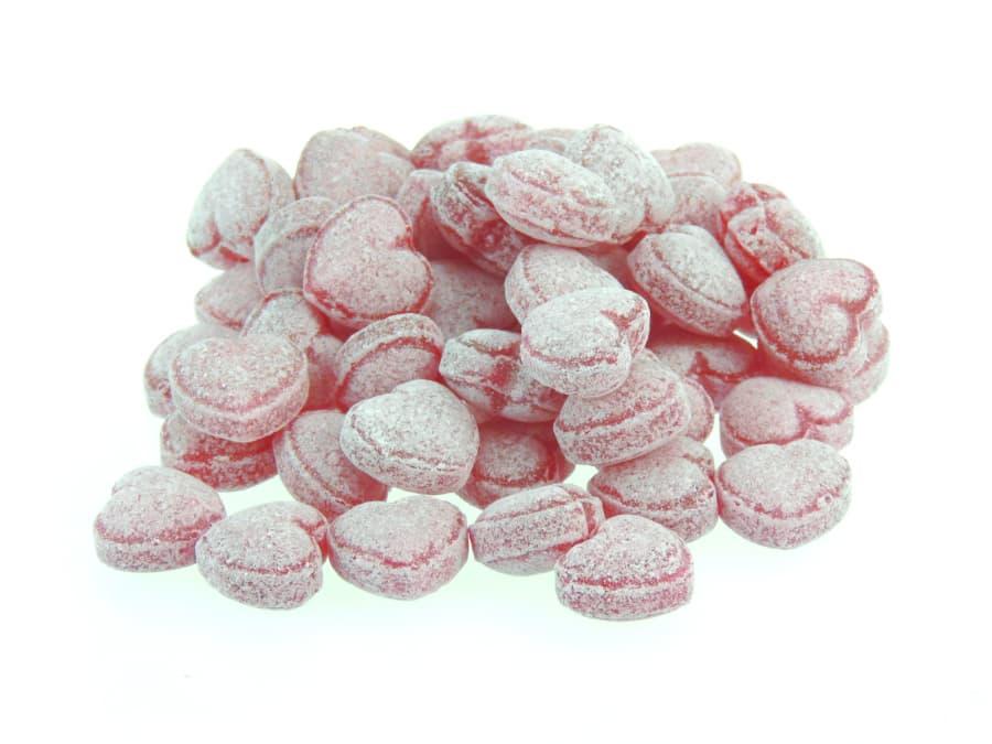 Glühwein Bonbons in Herzform von Aromatikus