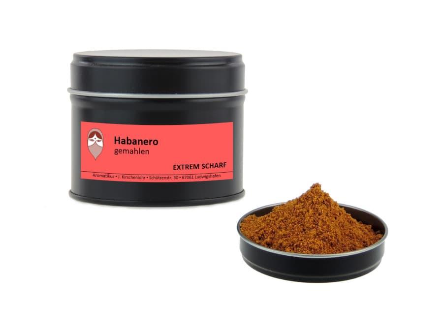 Habanero gemahlen von Aromatikus in einer Aromaschutzdose