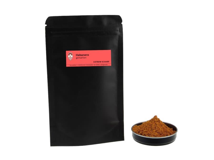 Habanero gemahlen von Aromatikus im verschließbaren Nachfüllpäckchen