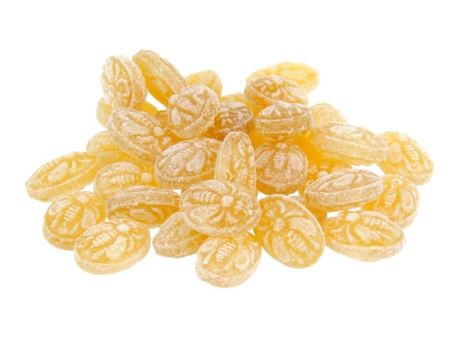 klassische Honig Bonbons mit Bienenabdruck von Aromatikus