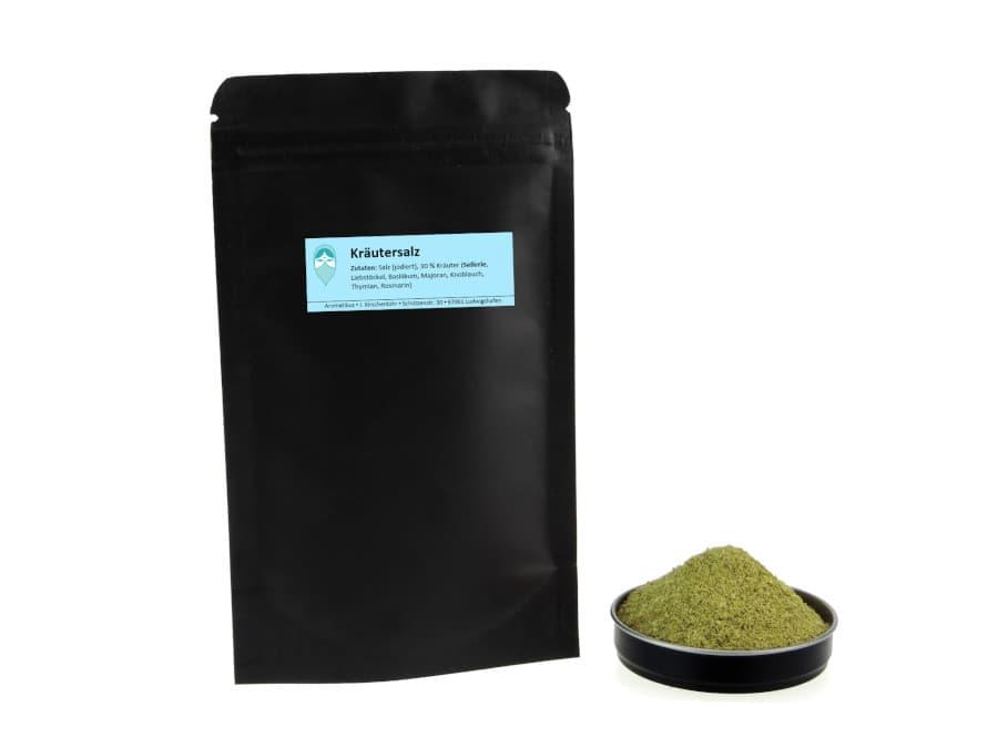 Kräutersalz Mischung von Aromatikus im verschließbaren Nachfüllpäckchen