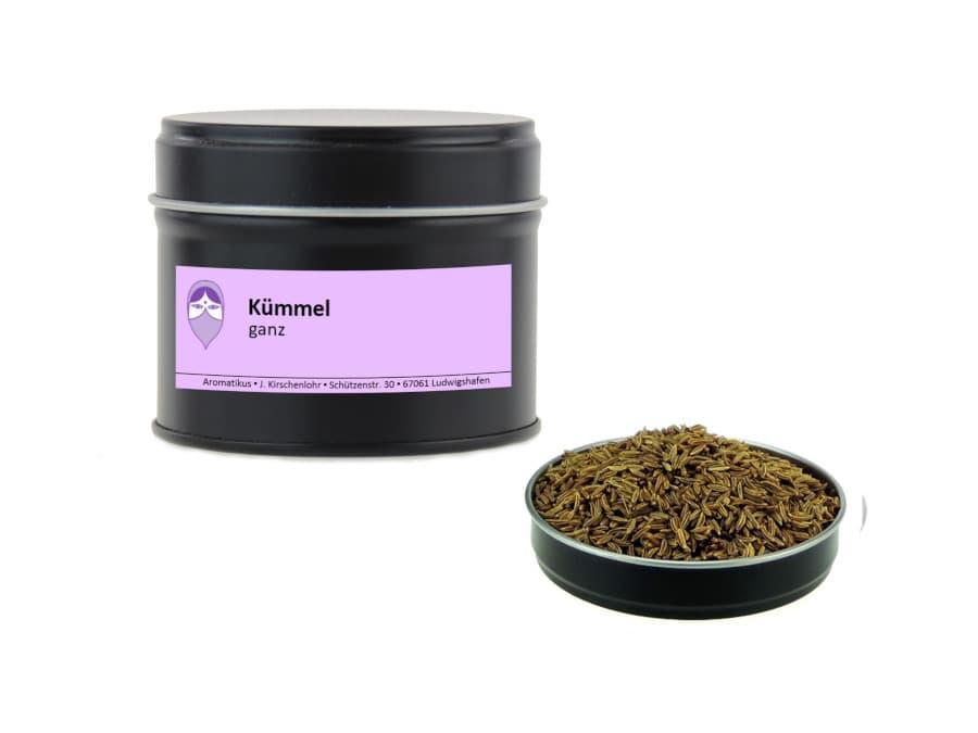 Kümmel ganz von Aromatikus in einer Aromaschutzdose