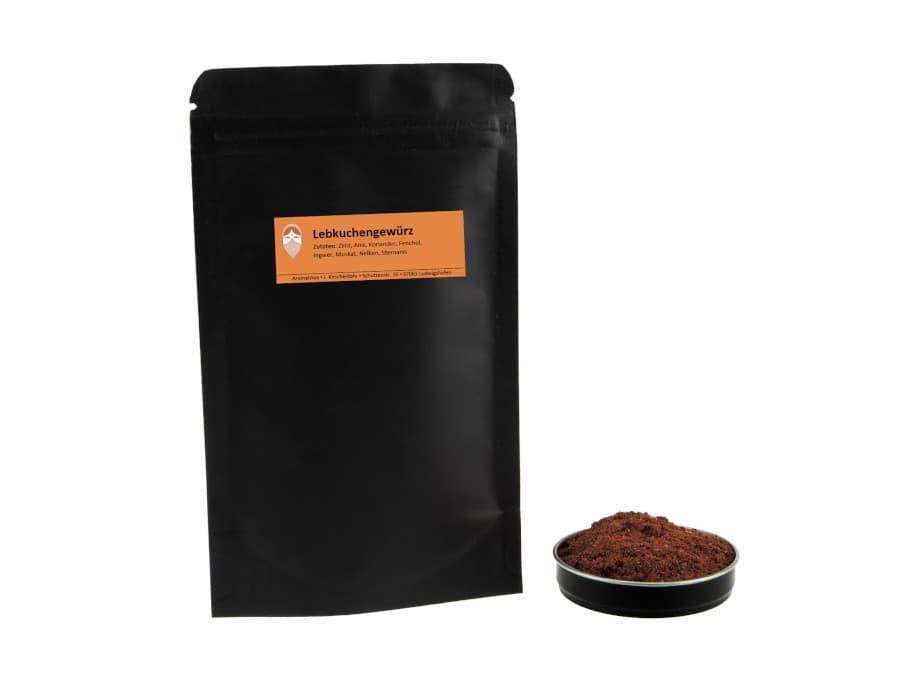 Lebkuchengewürz Mischung von Aromatikus im verschließbaren Nachfüllpäckchen