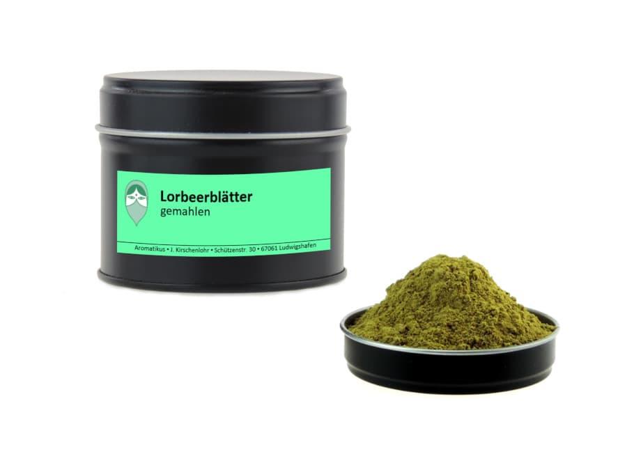 Lorbeerblätter von Aromatikus in einer Aromaschutzdose