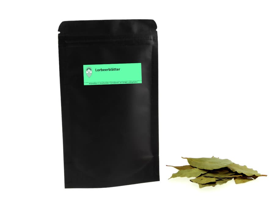 Lorbeerblätter von Aromatikus im verschließbaren Päckchen