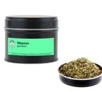 Majoran getrocknet gerebelt von Aromatikus in einer Aromaschutzdose