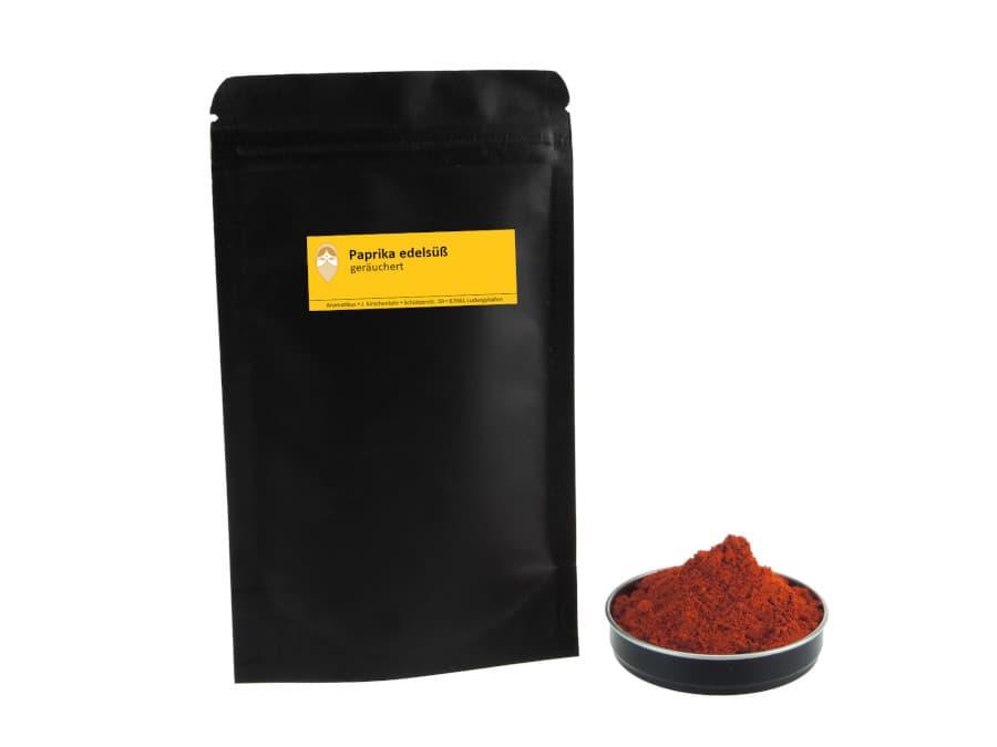 Paprika edelsüß geräuchert von Aromatikus im verschließbaren Nachfüllpäckchen