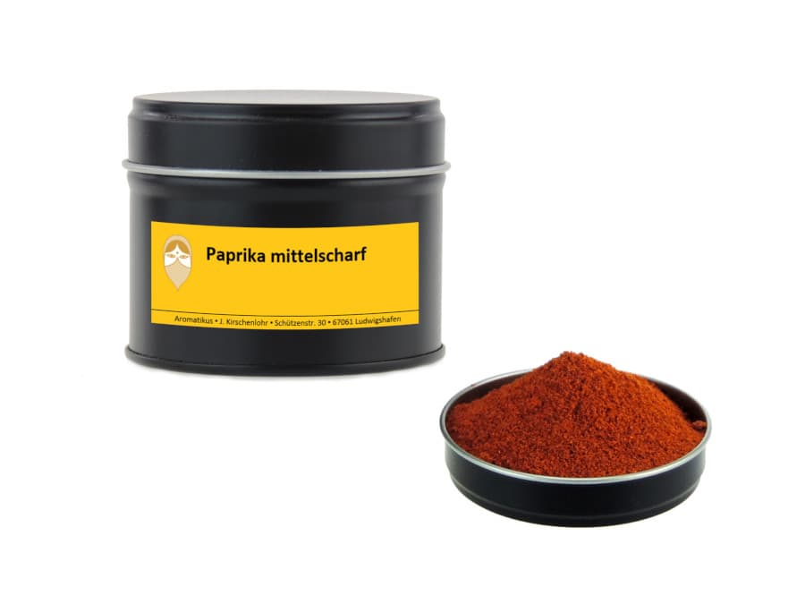 Paprika mittelscharf von Aromatikus in einer Aromaschutzdose