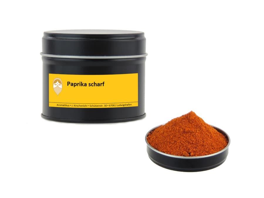 scharfer Paprika von Aromatikus in einer Aromaschutzdose
