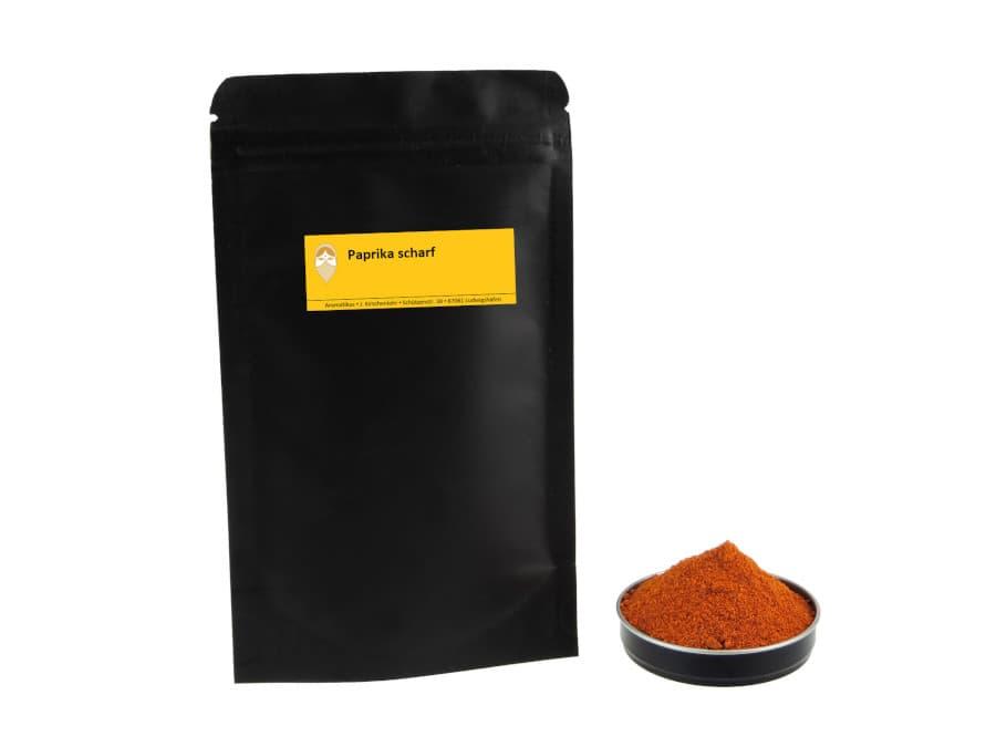 scharfer Paprika von Aromatikus im verschließbaren Nachfüllpäckchen