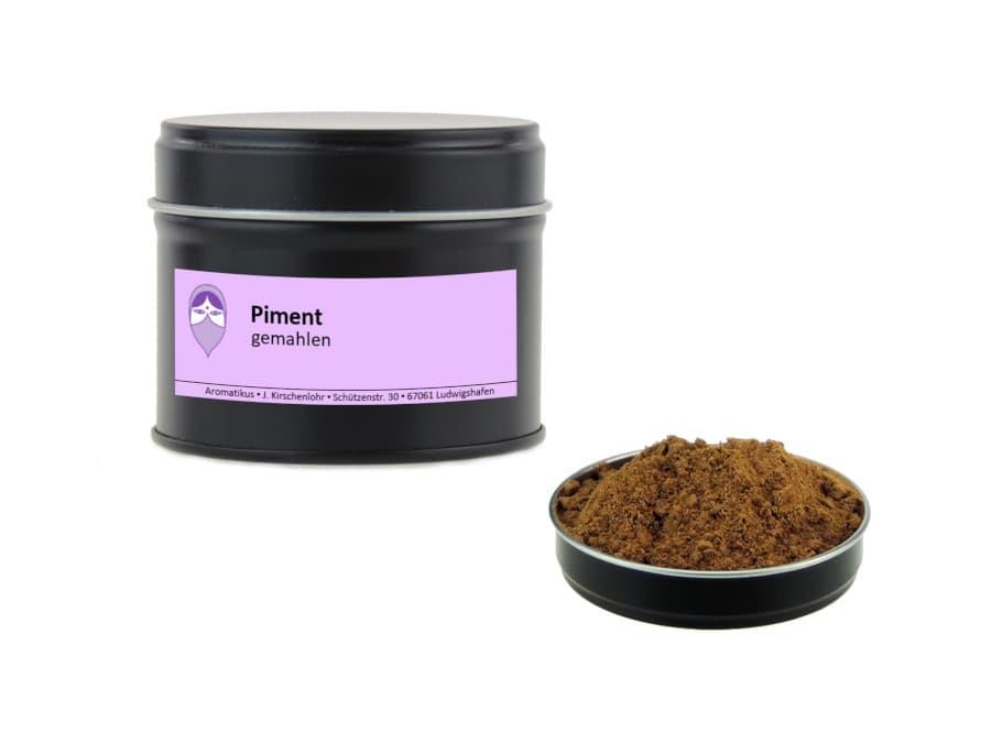 Piment gemahlen von Aromatikus in einer Aromaschutzdose