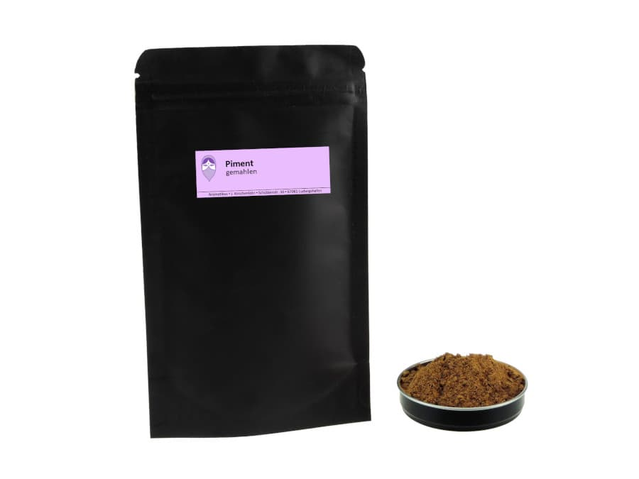 Piment gemahlen von Aromatikus im verschließbaren Nachfüllpäckchen