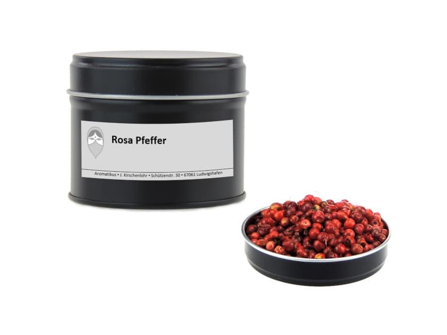 Rosa Pfeffer Schinusmolle von Aromatikus in einer Aromaschutzdose