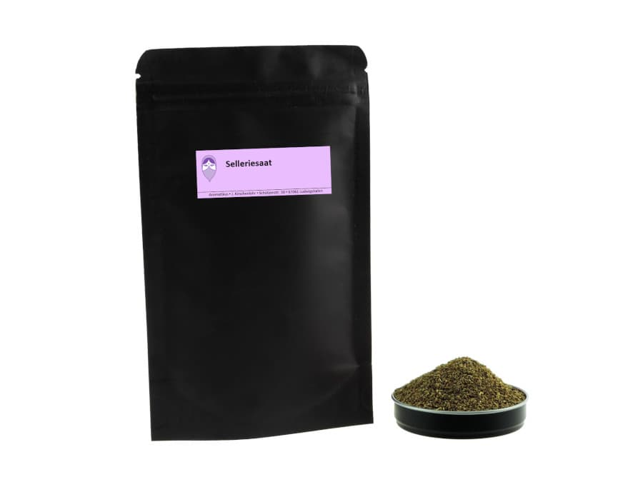 Selleriesaat von Aromatikus im verschließbaren Nachfüllpäckchen
