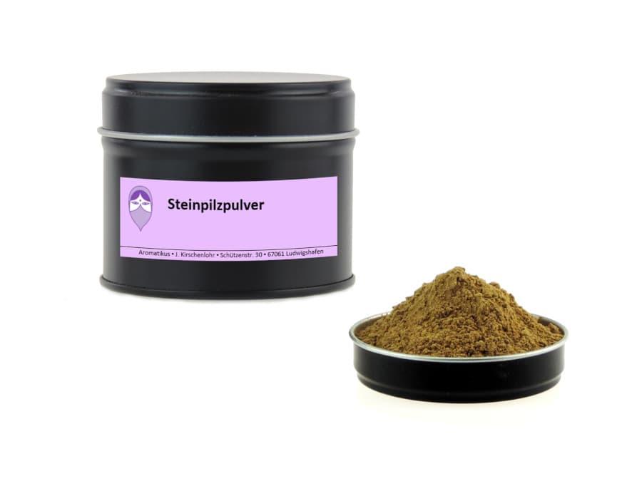 Steinpilz gemahlen von Aromatikus in einer Aromaschutzdose