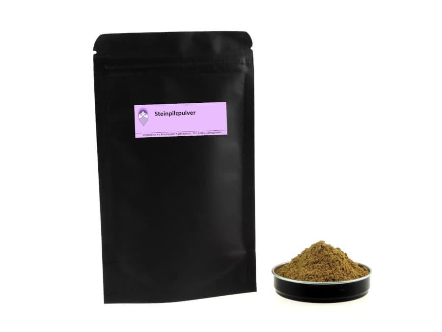 Steinpilz gemahlen von Aromatikus im verschließbaren Nachfüllpäckchen