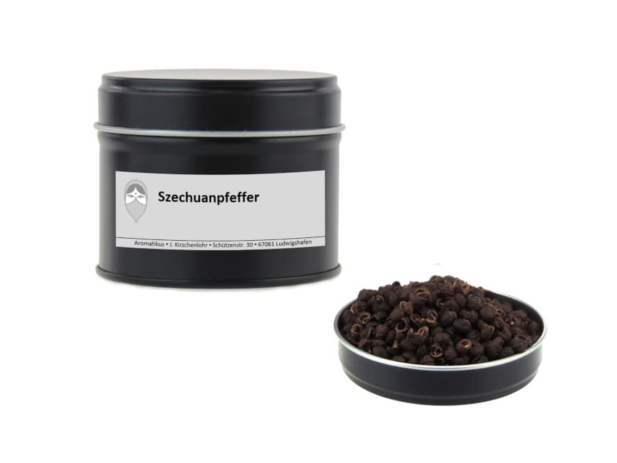 Szechuanpfeffer von Aromatikus in einer Aromaschutzdose