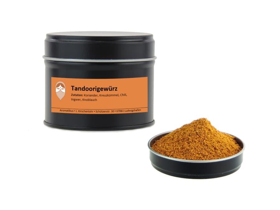 Tandoorigewürz Mischung Masala von Aromatikus in einer Aromaschutzdose
