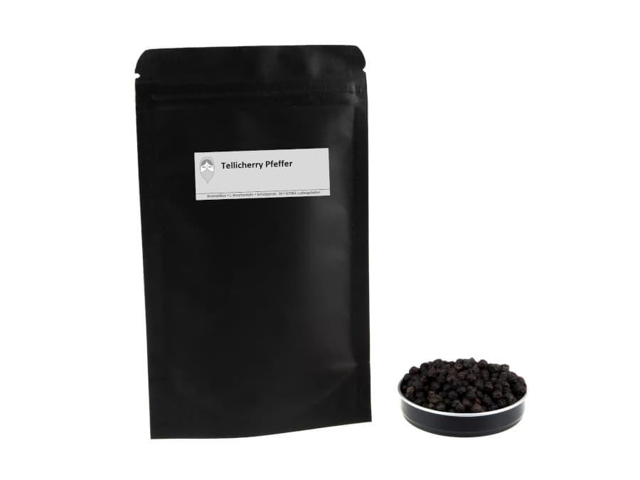 Tellicherry Pfeffer von Aromatikus im verschließbaren Nachfüllpäckchen