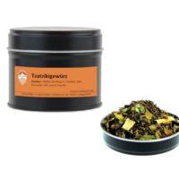 Tzatzikigewürz Mischung von Aromatikus in einer Aromaschutzdose