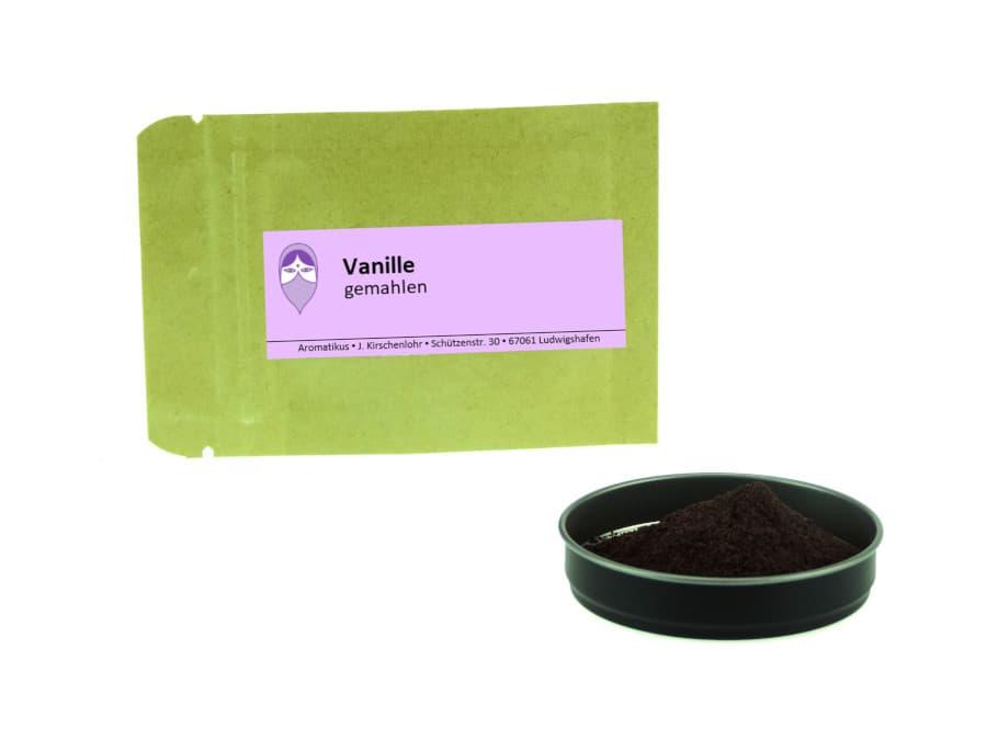 Bourbon Vanille gemahlen von Aromatikus