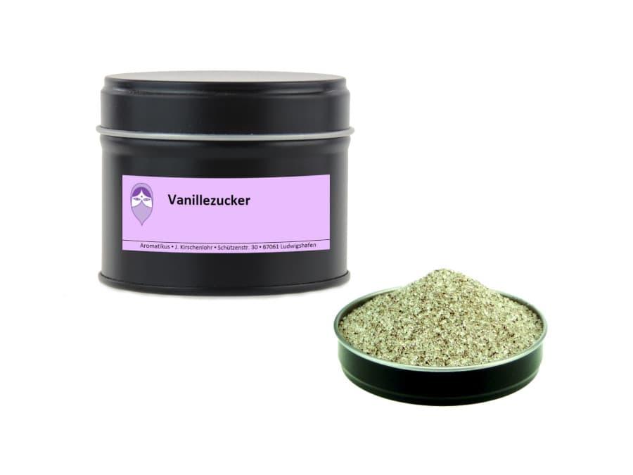 Vanillezucker mit echter Bourbon Vanille von Aromatikus