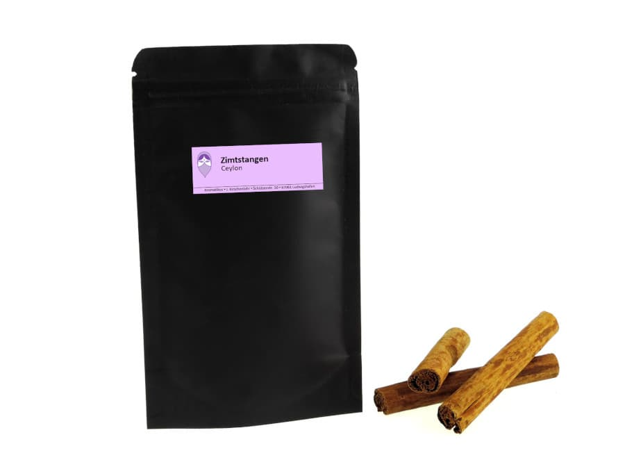 Zimtstangen Ceylon von Aromatikus im verschließbaren Päckchen