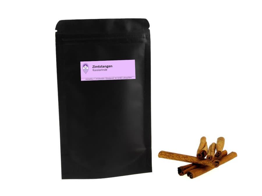 Zimtstangen Kassia von Aromatikus im verschließbaren Päckchen