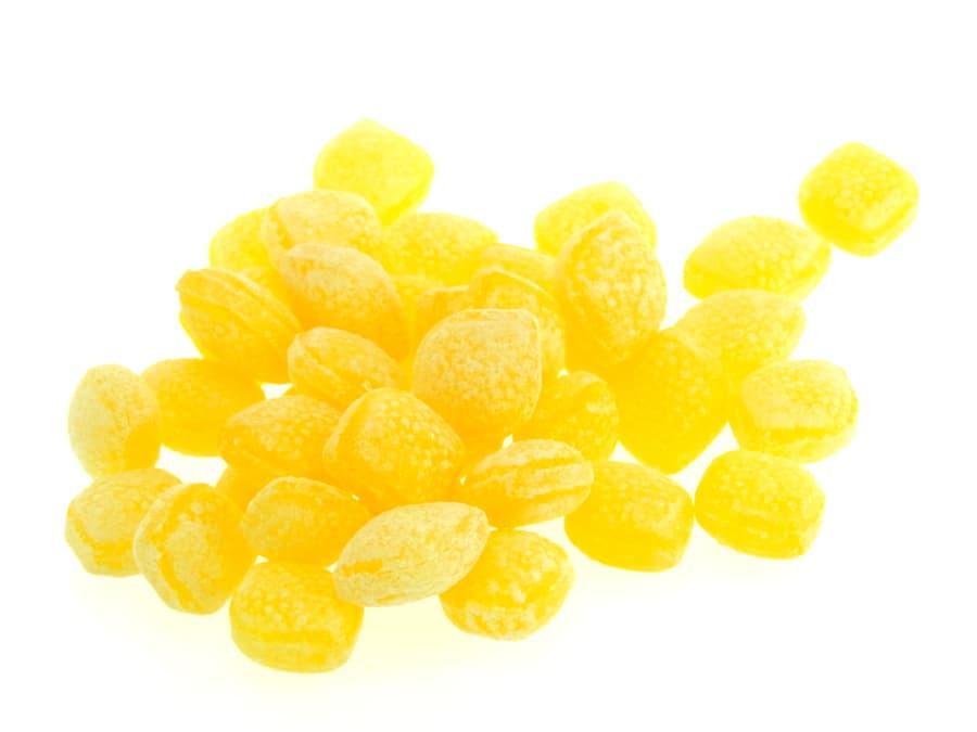 fruchtige Zitronen Bonbons von Aromatikus