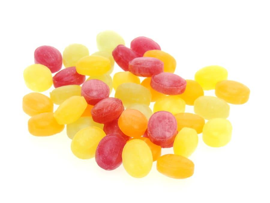 zuckerfreie Früchtemischung Bonbons von Aromatikus
