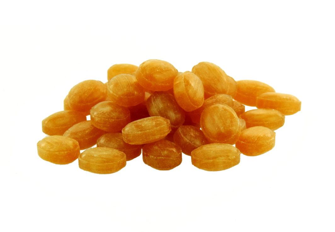 zuckerfreie Ingwer-Orange Bonbons von Aromatikus