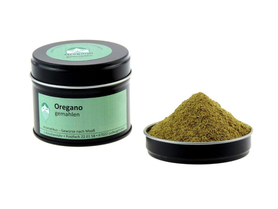 Oregano gemahlen von Aromatikus