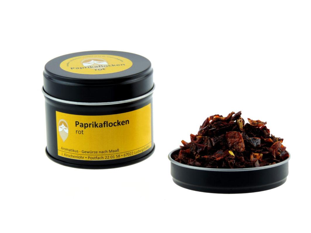Paprikaflocken rot getrocknet von Aromatikus