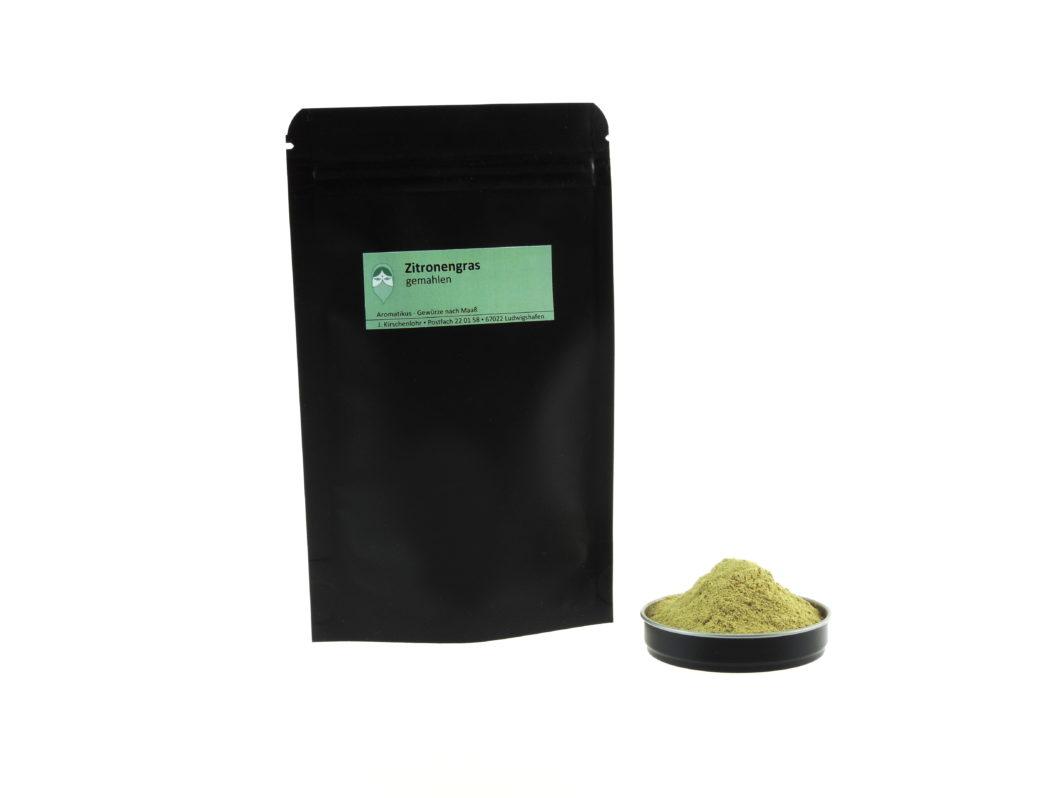 Zitronengras gemahlen von Aromatikus