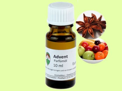 Ätherisches Duftöl Advent als Parfümöl von Aromatikus