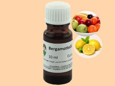 Ätherisches Duftöl Bergamotte als naturreines Öl von Aromatikus