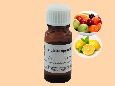 Ätherisches Duftöl Blutorange als naturreines Öl von Aromatikus