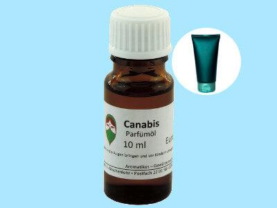 Ätherisches Duftöl Canabis (kosmetisch) als Parfümöl von Aromatikus