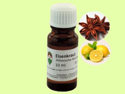 Ätherisches Duftöl Eisenkraut/Zitronenverbene als naturreine Ölmischung von Aromatikus