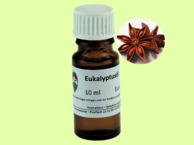 Ätherisches Duftöl Eukalyptus als naturreines Öl von Aromatikus